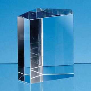 7.5cm Optical Crystal Irregular Pentagon Award