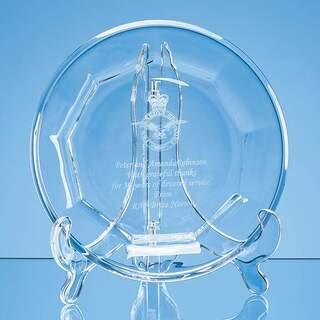 19cm Lead Crystal Display Plate
