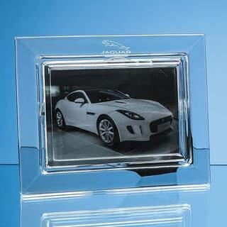 25cm Lead Crystal Plain Photo Frame for 7inchinch x 5inchinch Photo  H or V