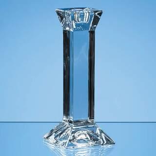 15cm Lead Crystal Padova Candlestick Holder