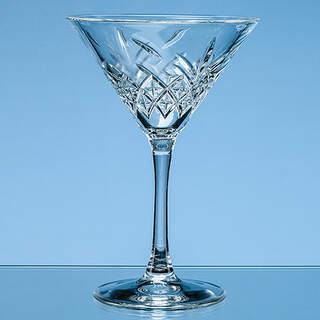 230ml Creative Bar Full Cut Martini Glass